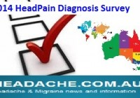 2014 Head Pain Diagnosis: survey results