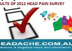 2014 HeadPain diagnosis survey results